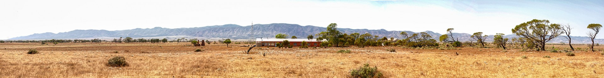 Shearers Quarters Panorama - photo by Tim Froling